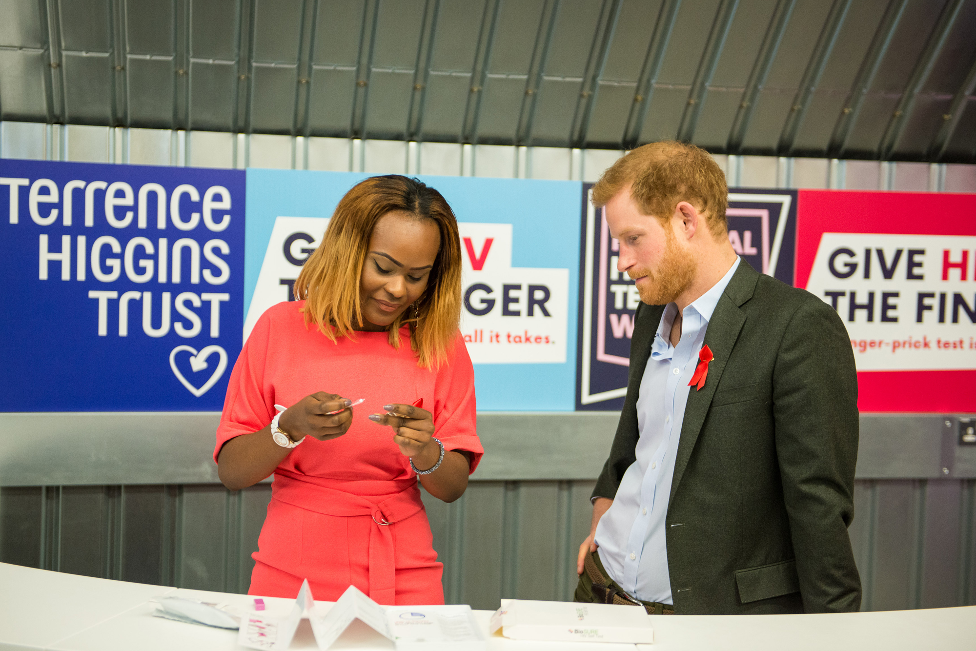 Yvette and Prince Harry