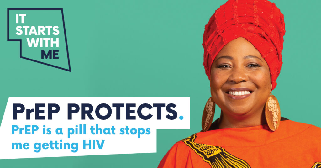PrEP Protects. PrEP is a pill that stops me getting HIV.
